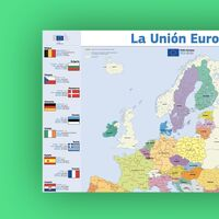 La Unión Europea regala un mapa impreso en A1 a todos los ciudadanos: así puedes pedir por Internet que te lo envíen