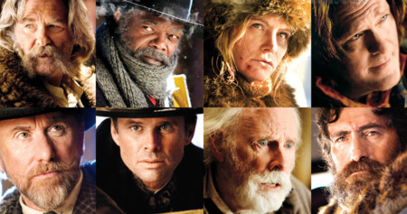 Los protagonistas de The Hateful Eight
