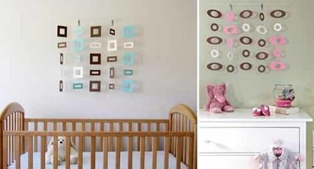 Móviles de diseño para la habitación del bebé