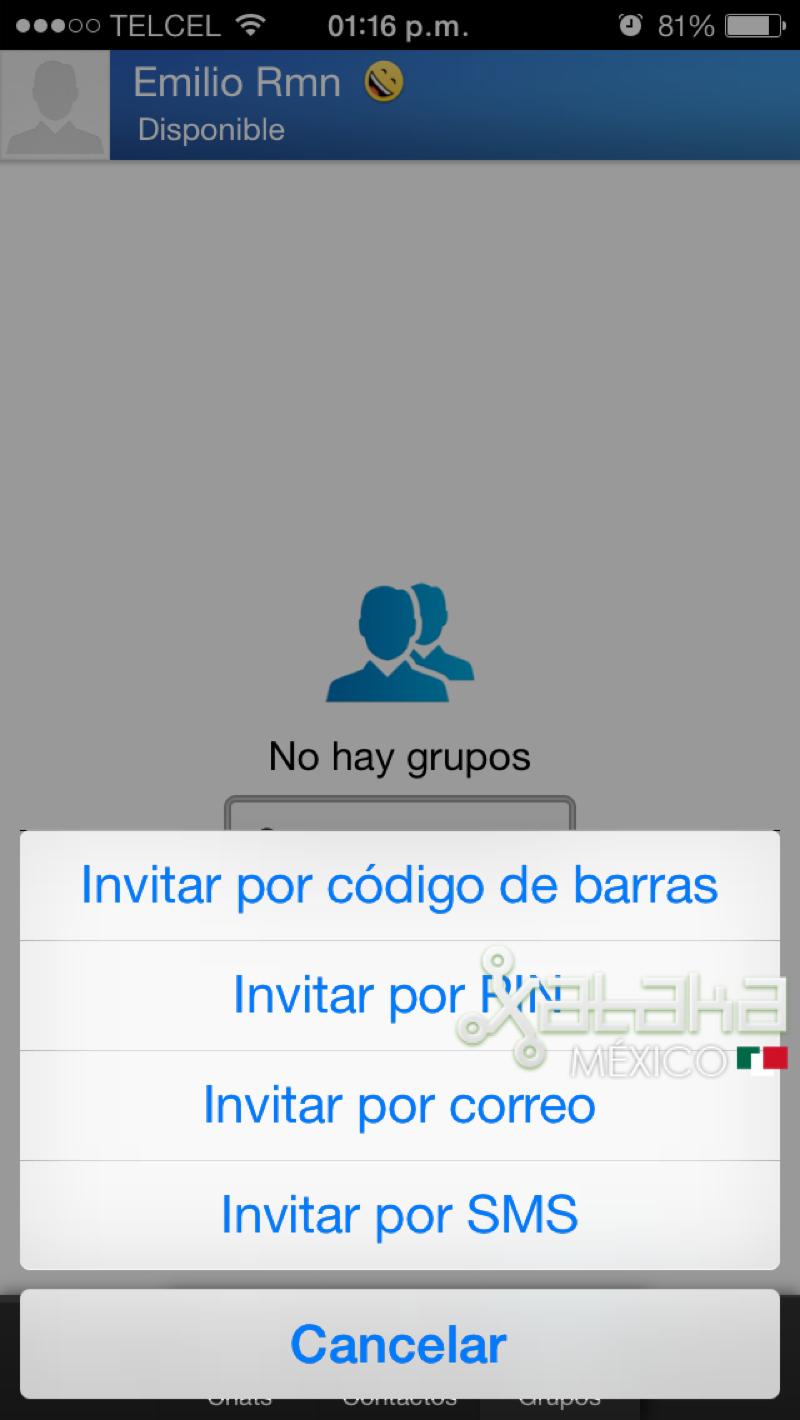 Foto de BBM para iOS (7/9)