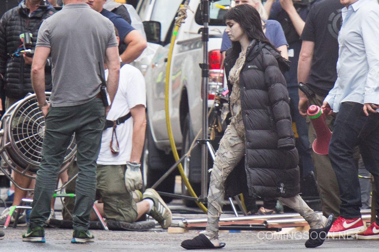 'The Mummy', primeras fotos de Sofia Boutella como la nueva Momia