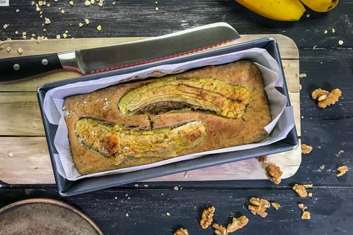 Receta de pan de plátano fitness, la versión más saludable y deliciosa del gran clásico americano (ahora en vídeo)