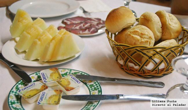 Restaurante O Forno. Entrantes