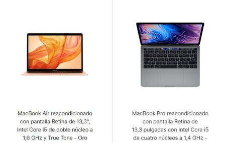 Macbook Reacondicionados
