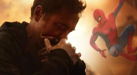 Avengers Infinity War Spider Man Death Scene Improv 1107398 1280x0
