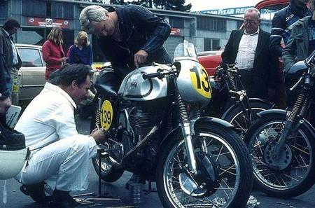 Norton Manx en Nurburgring 1978