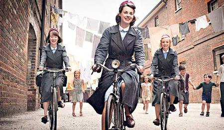 Telecinco emitirá las series británicas de época 'Call the midwife' y 'The Paradise'
