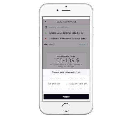 Viajes Uber
