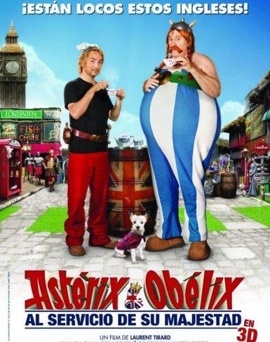 El cartel de Astérix y Obélix: Al Servicio de Su Majestad