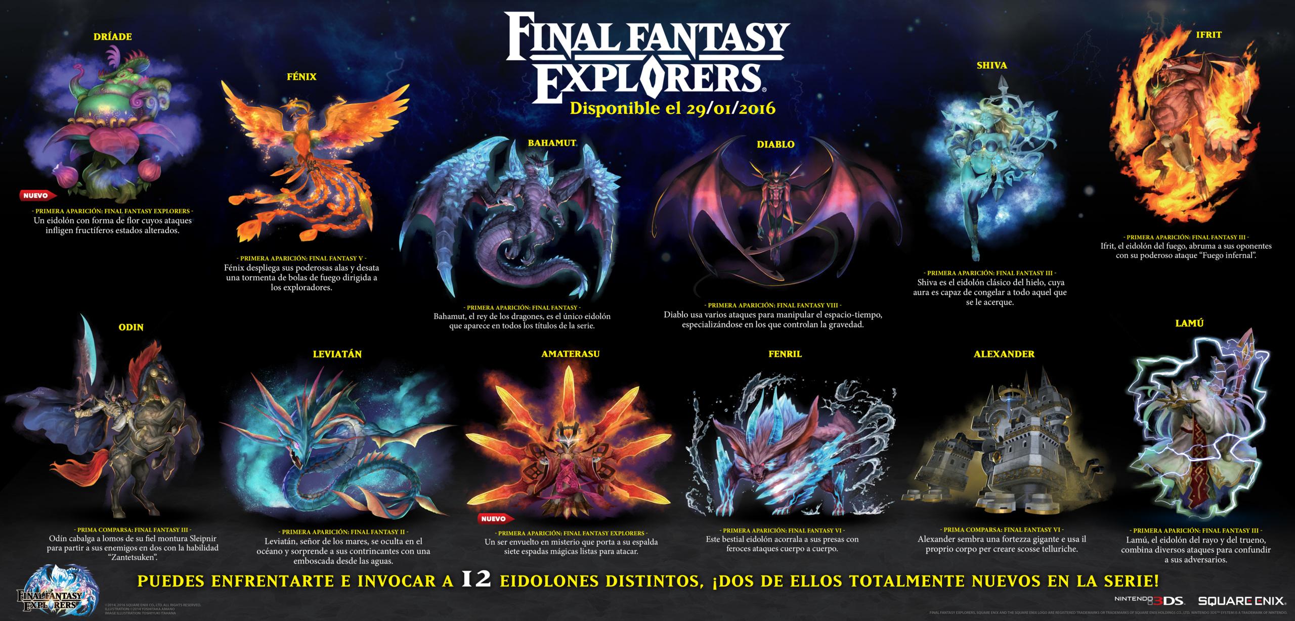 Foto de Infografía y screenshots FF Explorers (1/14)