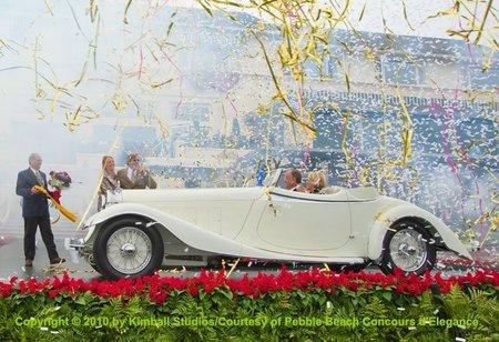 El 'Best of Show 2010' del Pebble Beach Concours d'Elegance fue un Delage del 1933