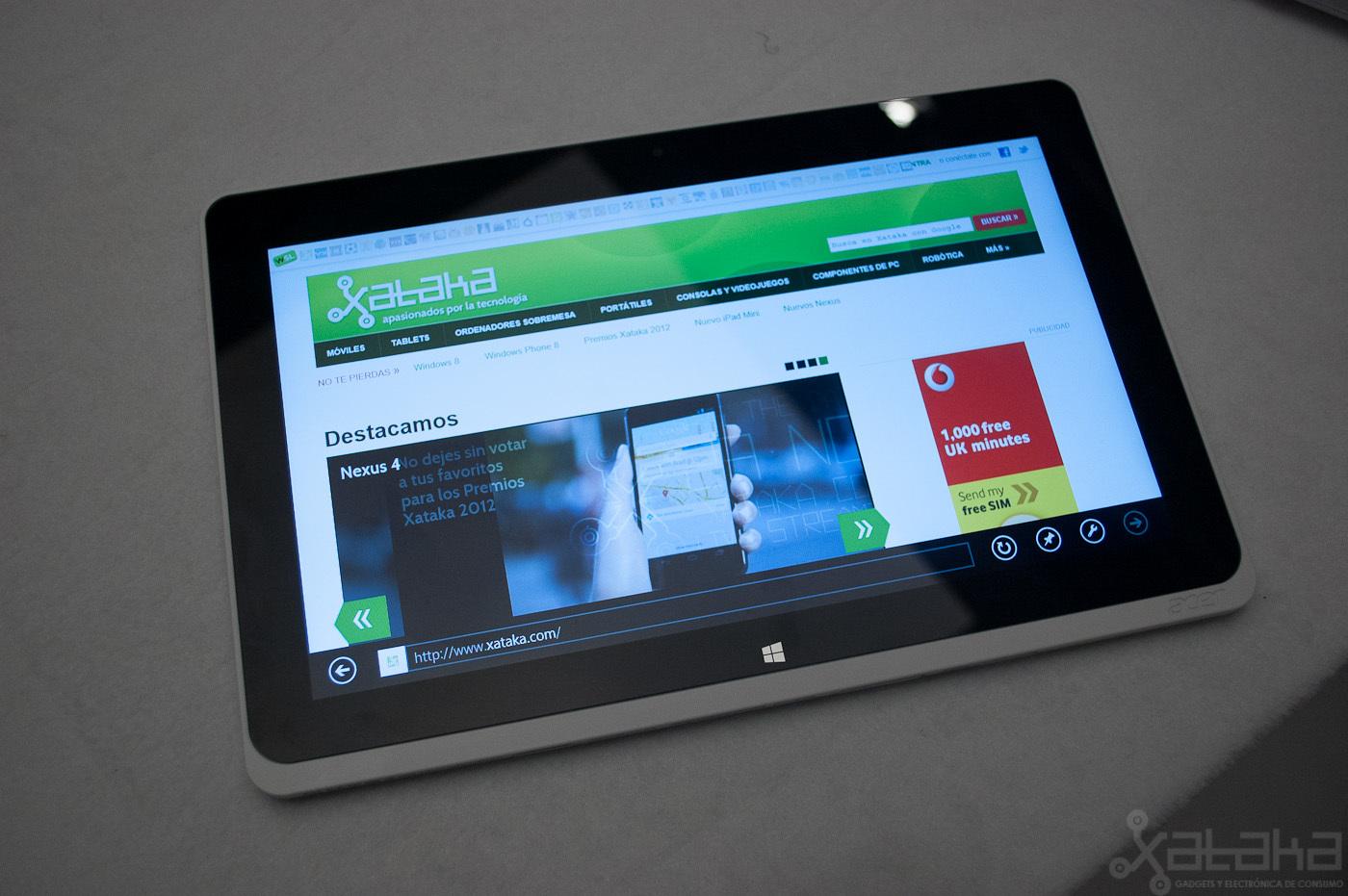 Foto de Acer Iconia W510, primeras impresiones (14/14)