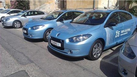 DemoEV en Malta, Renault Fluence ZE del ministro