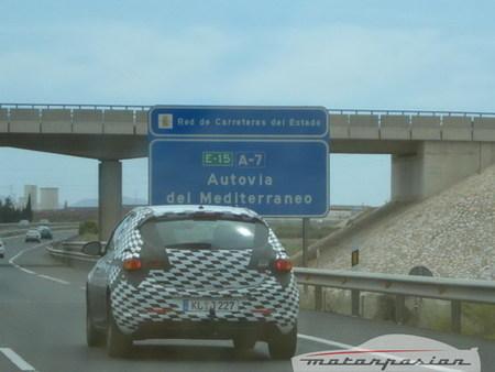 El nuevo Opel Astra cazado en España