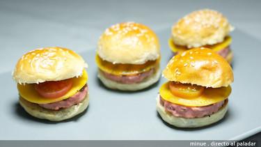 Receta de mini hamburguesas de pavo