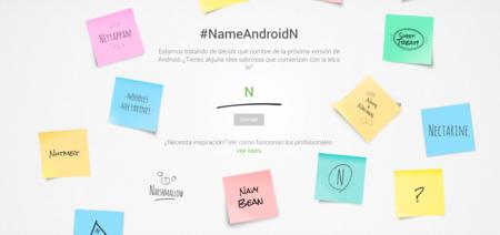 Google busca nombre para Android N
