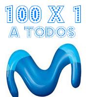 Promoción primavera Movistar: 100x1 a todos 24 horas