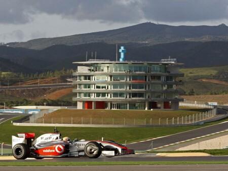Hamilton Portimao F1 2009