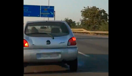 Un conductor cazado por un vídeo tras acosar a otro en la AP-7: impidió que le adelantara y hasta frenó bruscamente