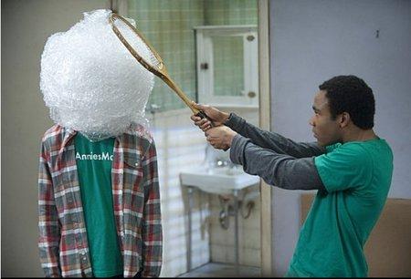Abed y Troy