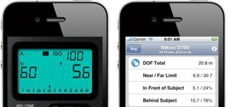 iLightmeter y F/8 Dof Calculator dos aplicaciones de iOS para fotógrafos