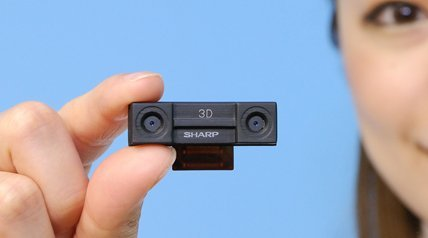 Sharp anuncia la primera cámara para dispositivos móviles que graba vídeo 3D en alta definición