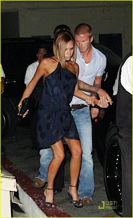 Victoria Beckham estupenda a cualquier lado del charco