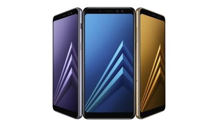 """Galaxy A8 y Galaxy A8+ (2018): la gama media de Samsung ahora tiene pantalla """"sin marcos"""" y doble cámara frontal"""