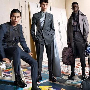 Dior Men le apuesta al arte como protagonista de su campaña de invierno 2019