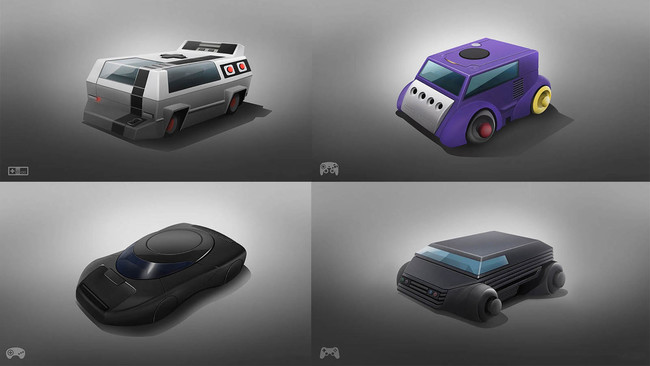 Estas ocho consolas de videojuegos se han convertido en coches