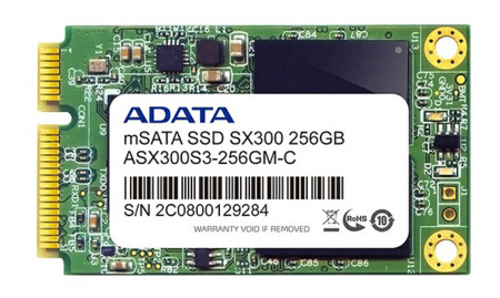 Adata XPG X300 y Premier Pro SP300, discos SSD con interfaz mSATA para mejorar el arranque