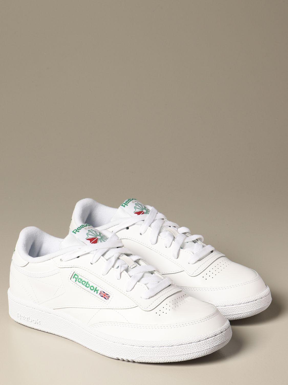 Zapatilla deportiva blanca en diseño retro de Reebok