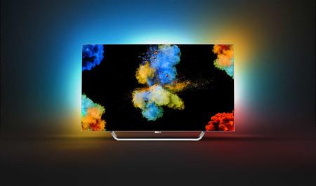 Smart TV OLED de 55 pulgadas Philips 55POS9002/12 por 1.199 euros y financiación al 0% en MediaMarkt
