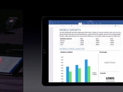 Office 2016 es gratuito en el iPad, pero tendrás que pagar por él en el iPad Pro