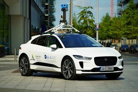 Jaguar I Pace X Google Street 2