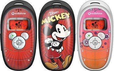 Vodafone comienza a comercializar el móvil de Disney