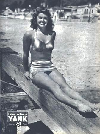 A Pin Up Of Williams From A 1945 Issue Of Yank The Army Weekly