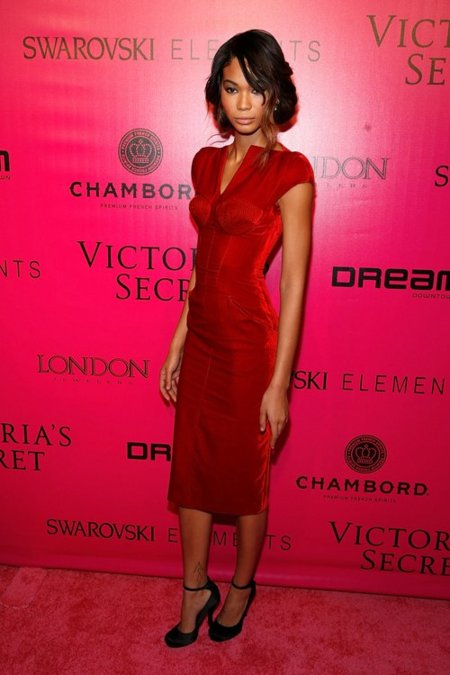 Chanel Iman Victorias Secret fiesta