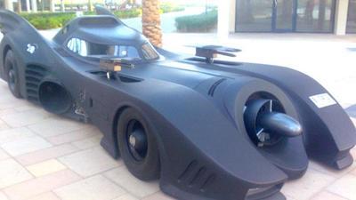 ¿Tu que coche tienes? Un Batmóvil