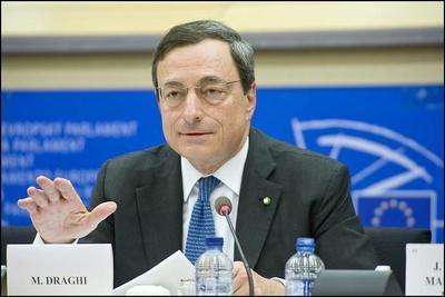 Mario Draghi en su rueda de prensa repite algunas cosas