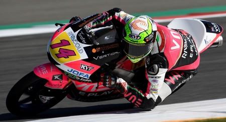 Tony Arbolino saldrá desde la pole en Brno tras una clasificación portentosa bajo la lluvia