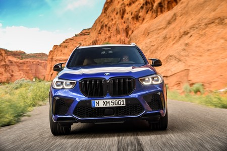 BMW X5 M Competition frontal