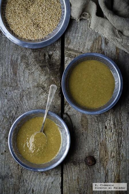 Cómo hacer salsa tahini casera. Receta