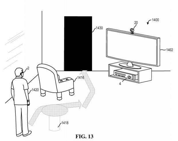 Foto de La patente de Lentes de Realidad Aumentada de Microsoft (3/3)