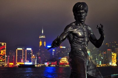 La avenida de las estrellas de Hong Kong