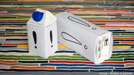 Envases de leche de medio litro, una buena idea