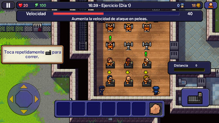 The Escapists Gimnasio