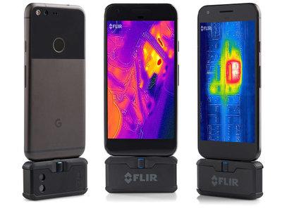 Las cámaras térmicas de FLIR ahora también son compatibles con iPhone y Android con USB Type-C