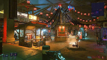 Jugando a Cyberpunk 2077 como si fuese un Borderlands: este mod cambia los gráficos por un espectacular estilo cel shading