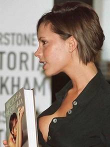 Victoria Beckham al natural